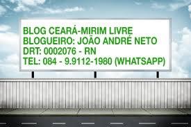BLOG CEARÁ-MIRIM LIVRE
