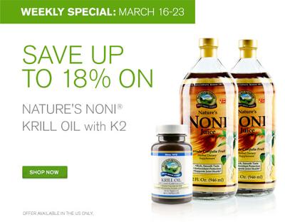 Noni and Krill Oil Sale