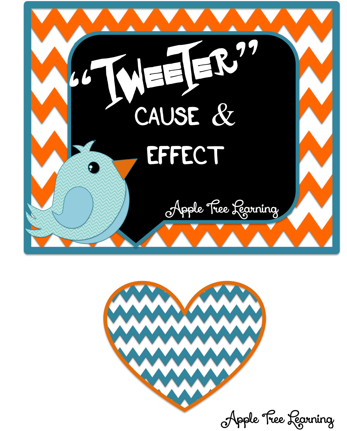 TPT TWEETER Cause & Effect activities, lessons, strategies~