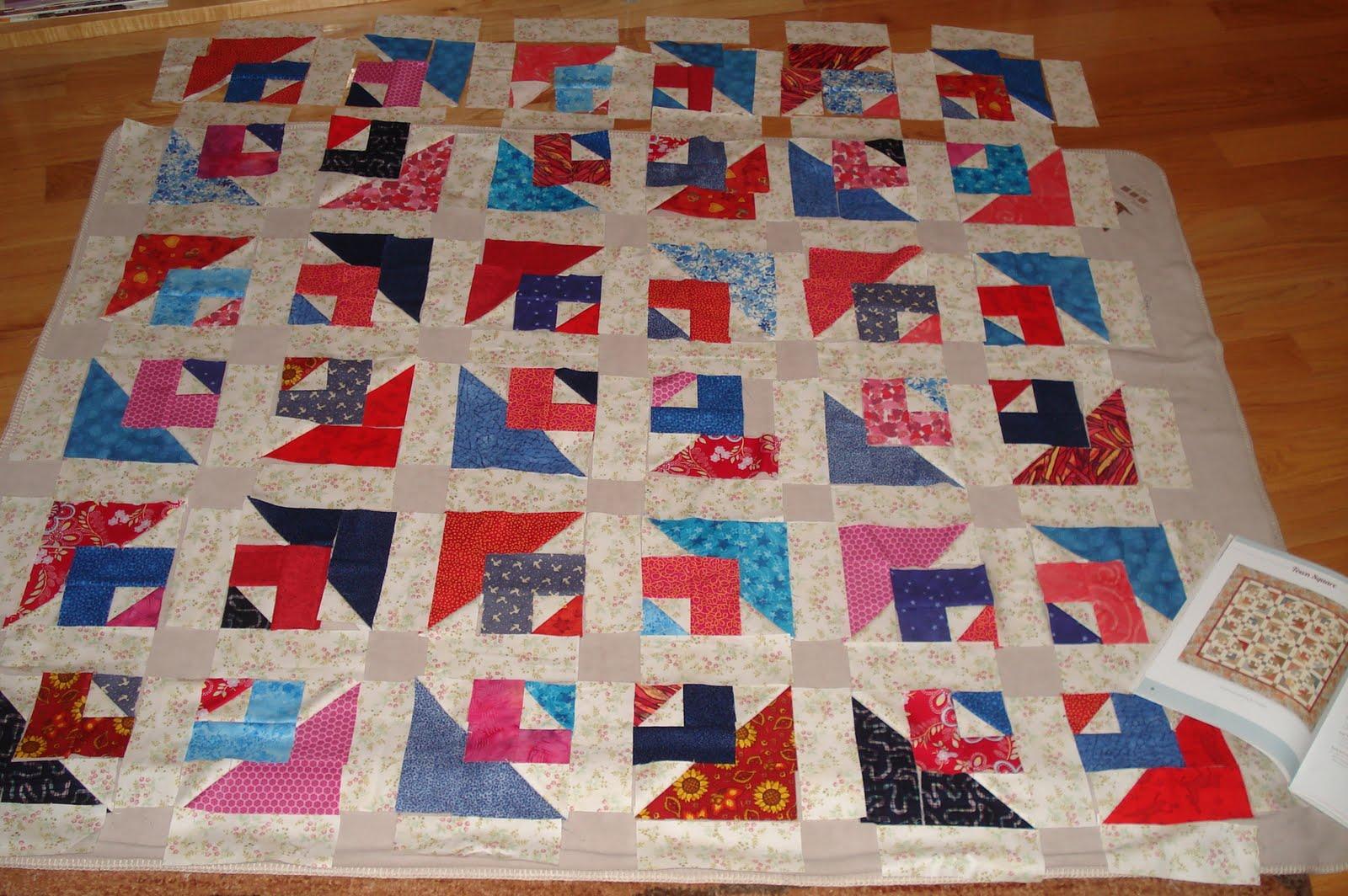 Paint Creek Quilt: Design Wall Monday