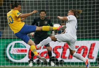 Hasil Skor Swedia vs Prancis