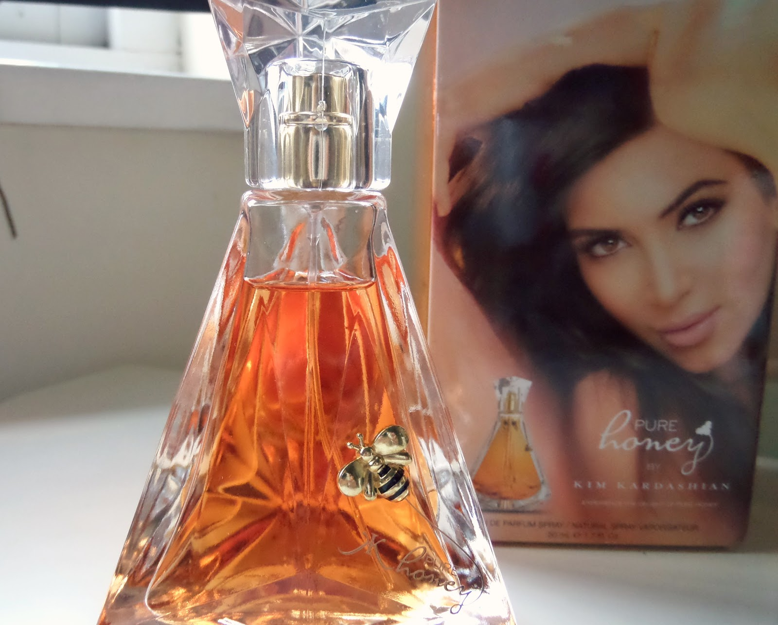 Kim Kardashian Pure Honey Bottle