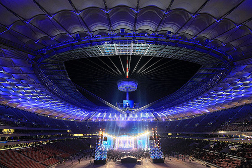 Watch UEFA EURO 2012 Opening Ceremony Live broadcasting: Download EURO 2012 Opening Ceremony video, photo gallery