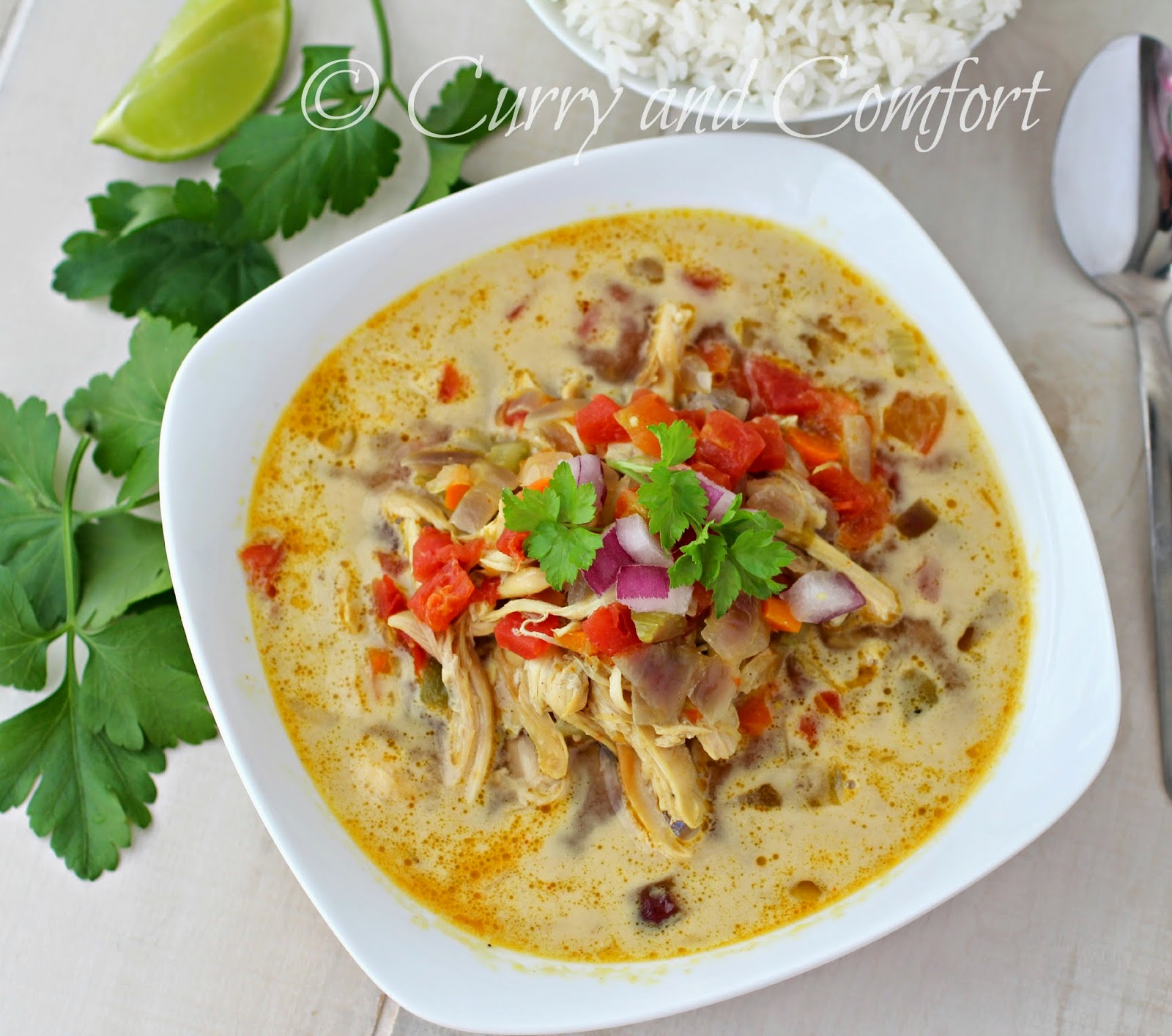 Mulligatawny Soup is a curried soup that is literally translated as ...