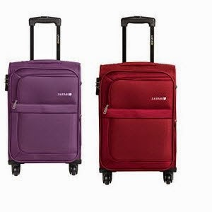 Amazon: Buy Safari Striker Fabric 57 cms Carry-On Trolley Rs. 2702