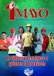 El cartel de la FSM para el 1o de mayo de 2019