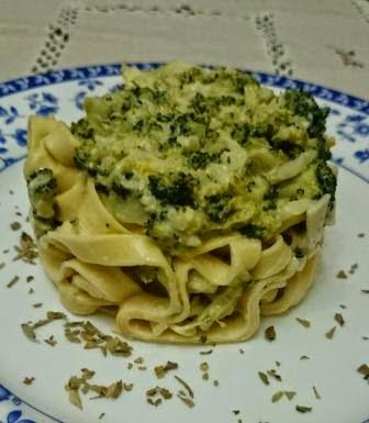Pasta Fresca Con Verdura Y Nata