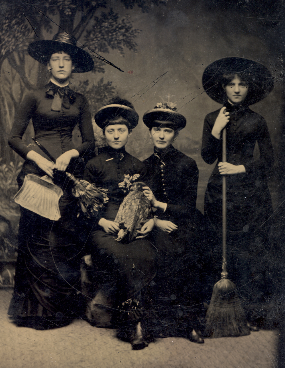 witches Vintage halloween