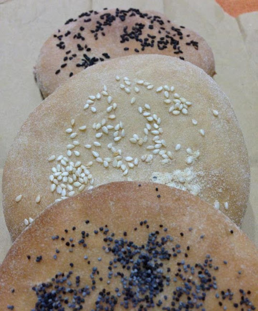 focaccine semi integrali di Sara Papa