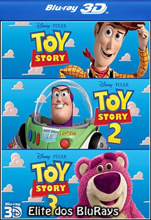 Toy Story Trilogia 3D Half SBS BluRay 1080p Dual Áudio Download Completo