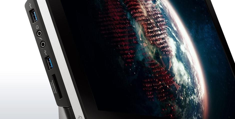 порты на левой стороне Lenovo IdeaCentre C440