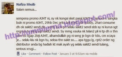 Testimoni Advance Joint Health Tablet