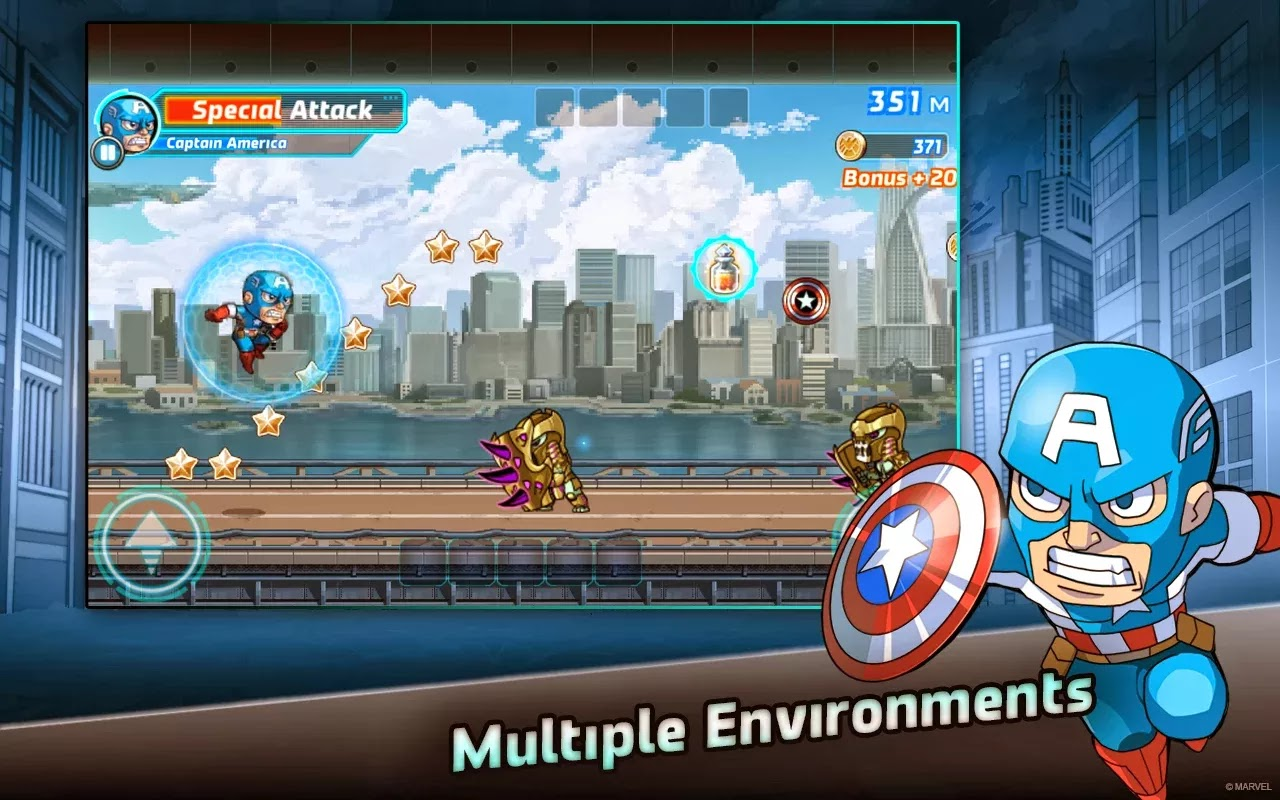 Marvel Run Jump Smash para ios y android
