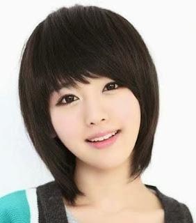 Model Potongan Gaya Rambut Wanita Pendek