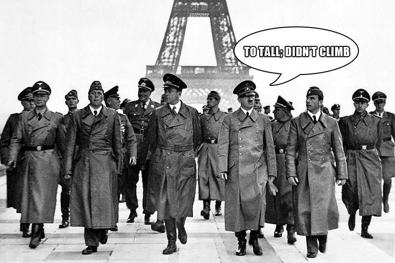 Hitler Eiffel Tower