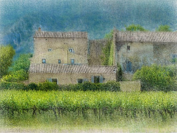 And then I knew we had entered the Luberon... © Solly Avenue