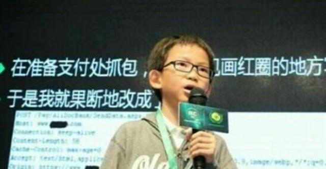 Hacker nhỏ tuổi tài năng của Trung Quốc