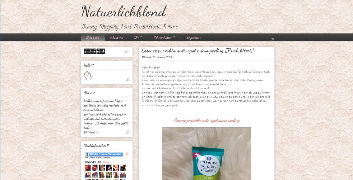 Mein Beautyblog