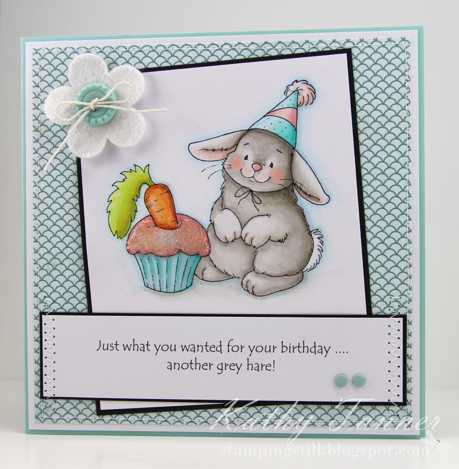 Bunny's Birthday, Whimsy, Crissy Armstrong, Hare