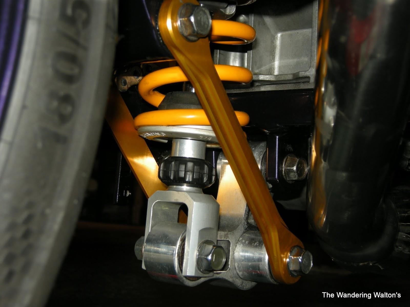 The Wandering Waltons  Yamaha Super Tenere XT1200Z Ohlins YA 013