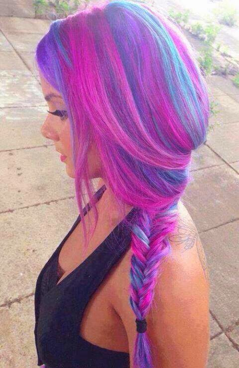Neon Hairs, Latest Hair Ideas, Hair Fashion 2015-2016.