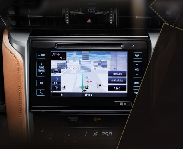 Novo Toyota Hilux SW4 2016 - tecnologia