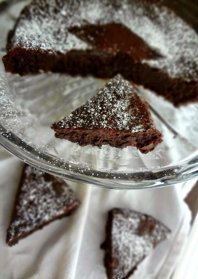 The Cooking Actress: Flourless Chocolate Cake