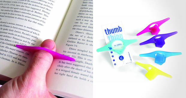 Thumb Thing Bookmark