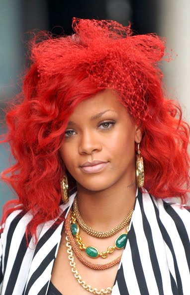 Dark Skin Nappy Hair: Red Hair for African American Women