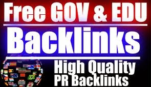 List  Backlinks Edu Gov high PR in 2014