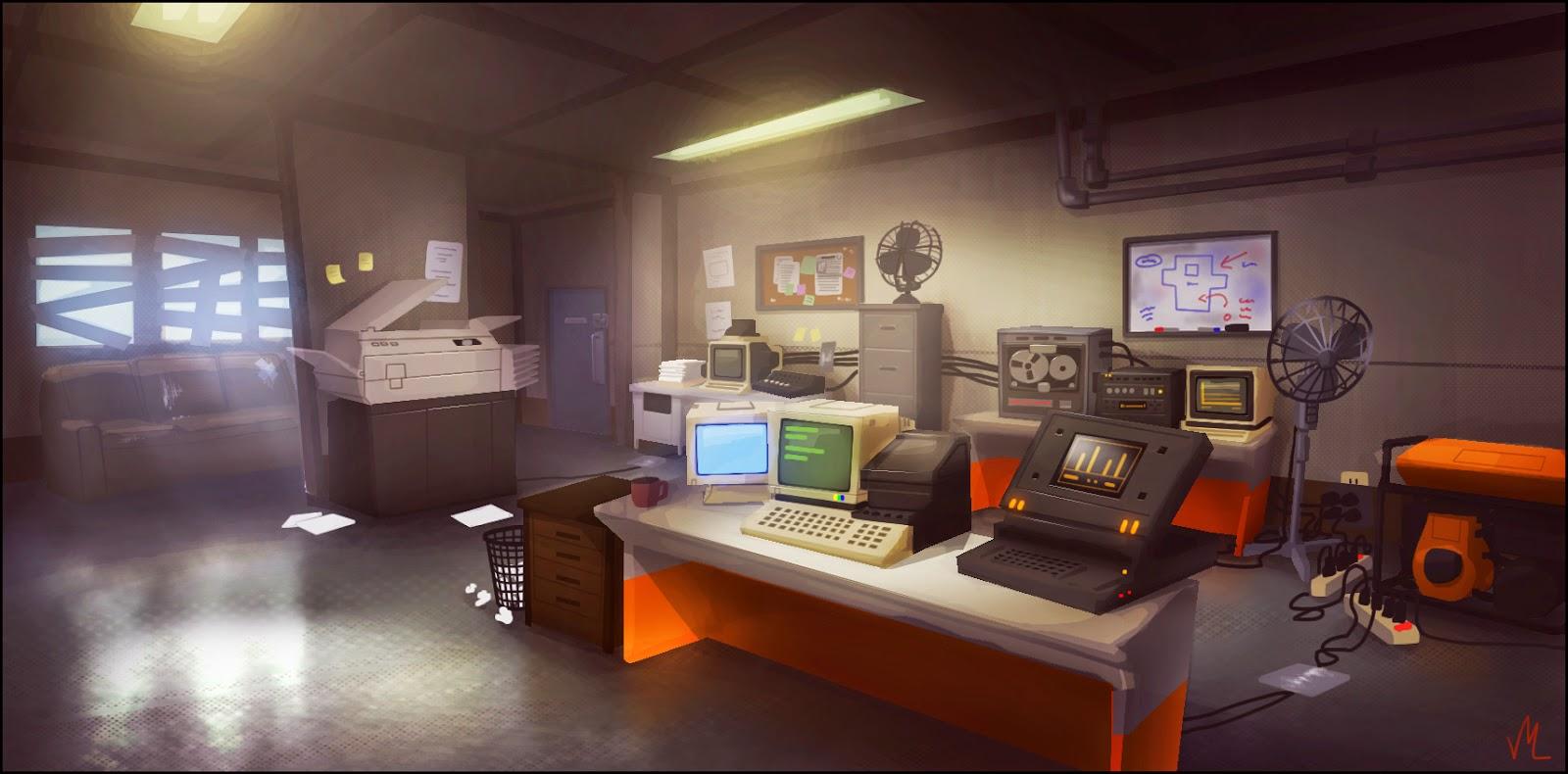 artist office. Concept Artist: Http://valdism.blogspot.co.at/ Concept: Artist Office