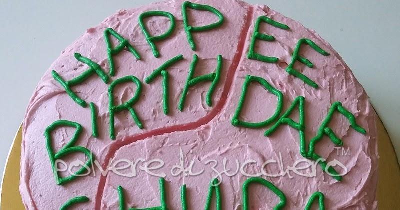 La torta del film di harry potter happee birthdae per un for Decorazioni torte harry potter