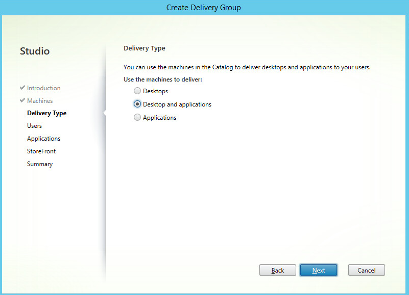 citrix how to add server os machine to delivery group