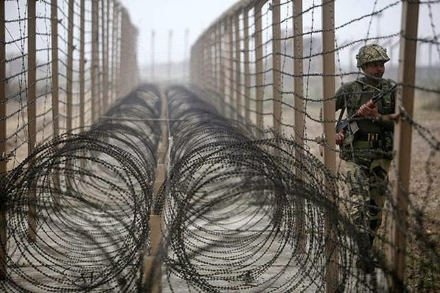 India-Pakistan and Iran-Pakistan border