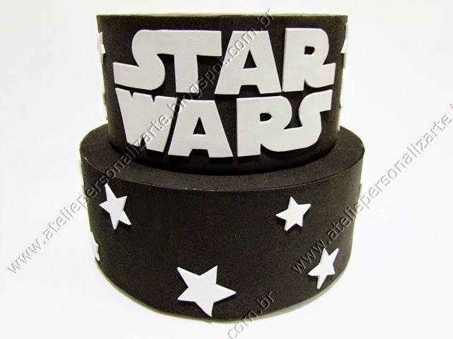 Bolo Cenográfico Star Wars (Guerra nas Estrelas)