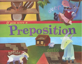 If you were a preposition