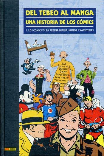DEL TEBEO AL MANGA:UNA HISTORIA DE LOS COMICS (10 volúmenes)-Antoni Guiral- Panini Comics
