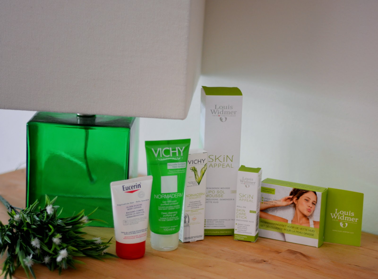 Skin care - Farmaline - Eucerin - Vichy - Louis Widmer - Beauty Blogger