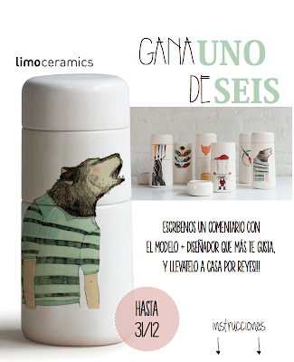 sorteo limoceramics Made with lof