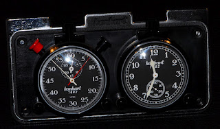 Montre de poche chronographe Hanhart