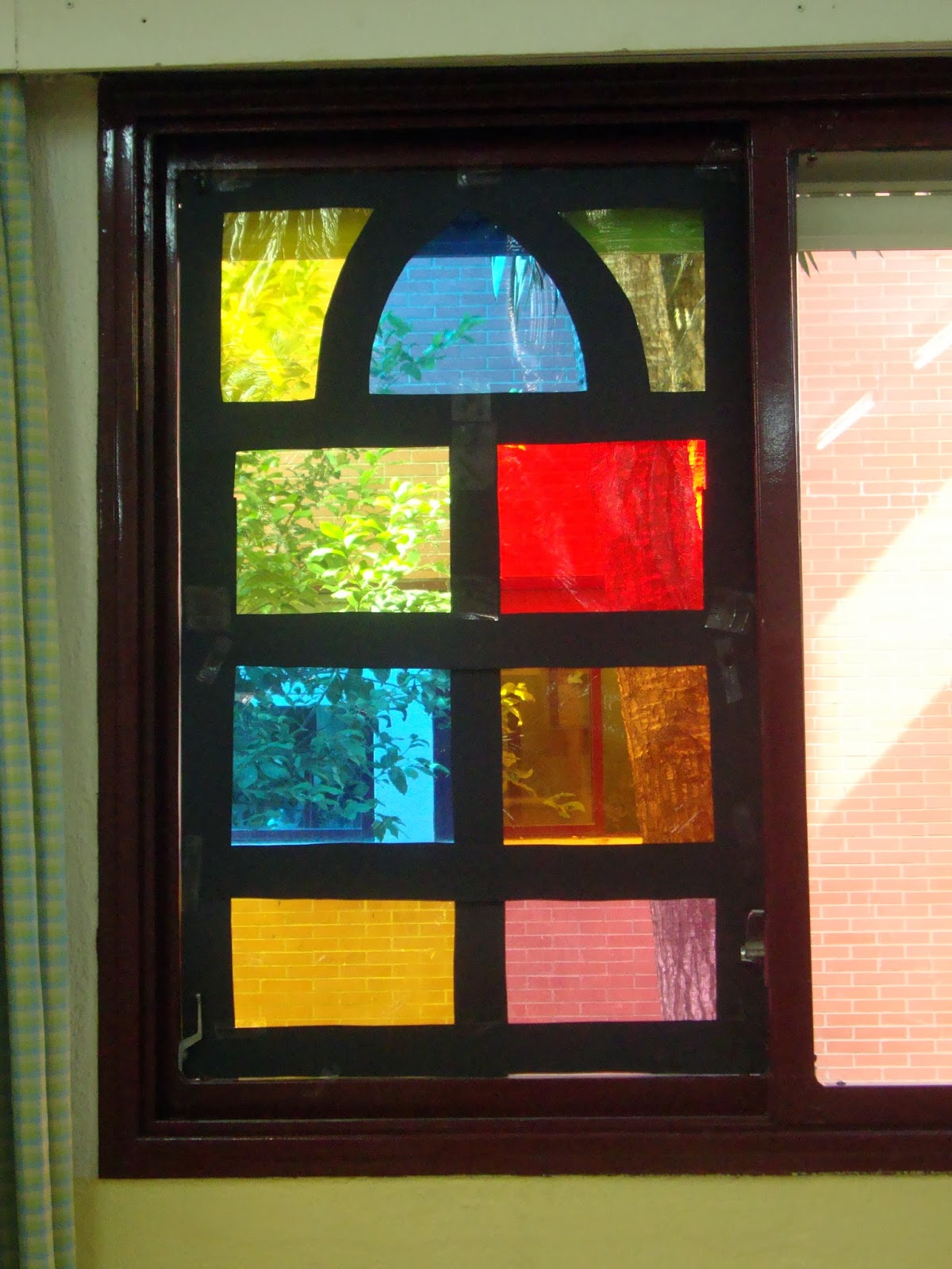 Debajo del arco iris las vidrieras - Como hacer una vidriera ...