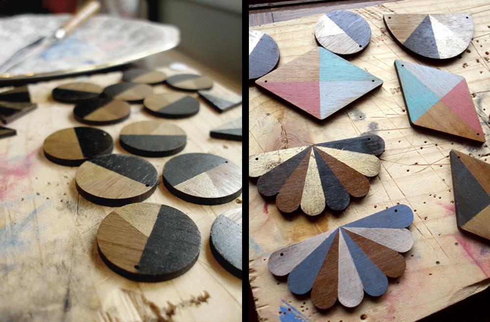 Jewellery making process // Little Peche at Shipshape Studio