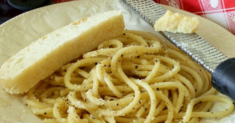 Savoury Table: Something From Nothing #32: Cacio e Pepe ...