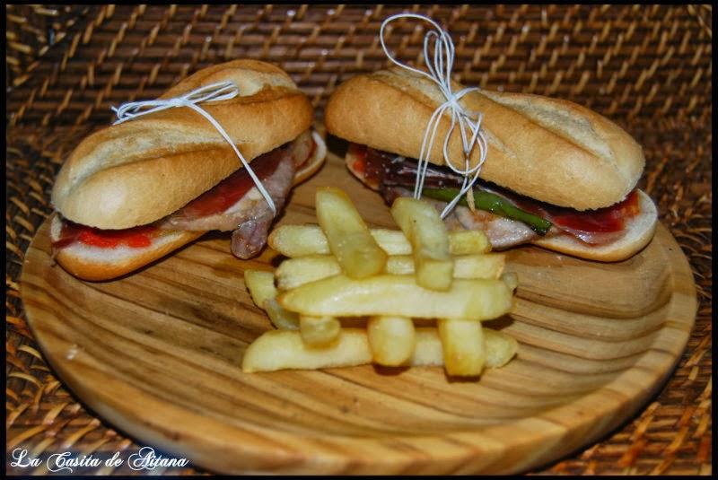serranitos con jamon iberico