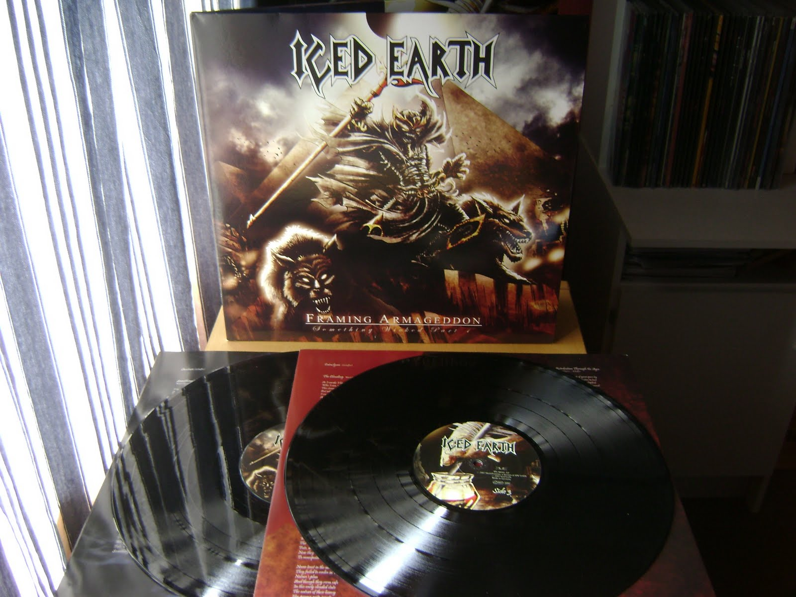 BG\'s Collection: Iced Earth Vinyls
