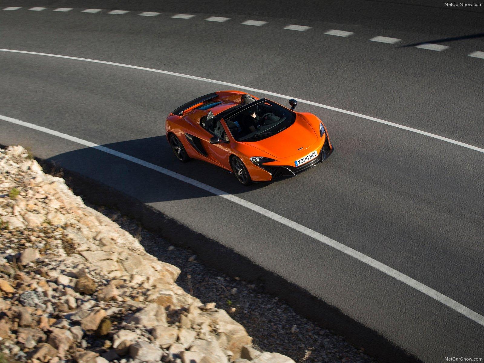 Hình ảnh siêu xe McLaren 650S Spider 2015 & nội ngoại thất