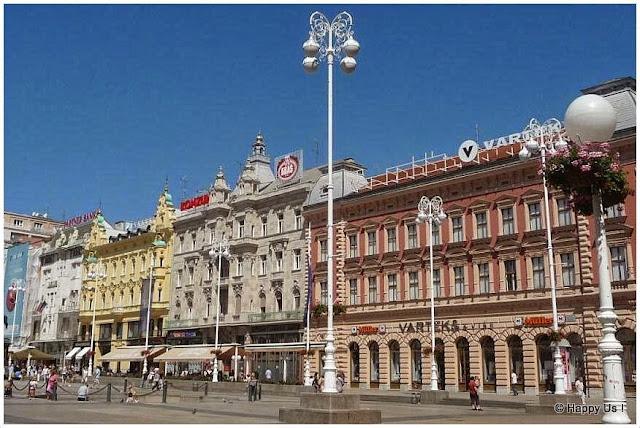 Zagreb - place Ban Jelaci