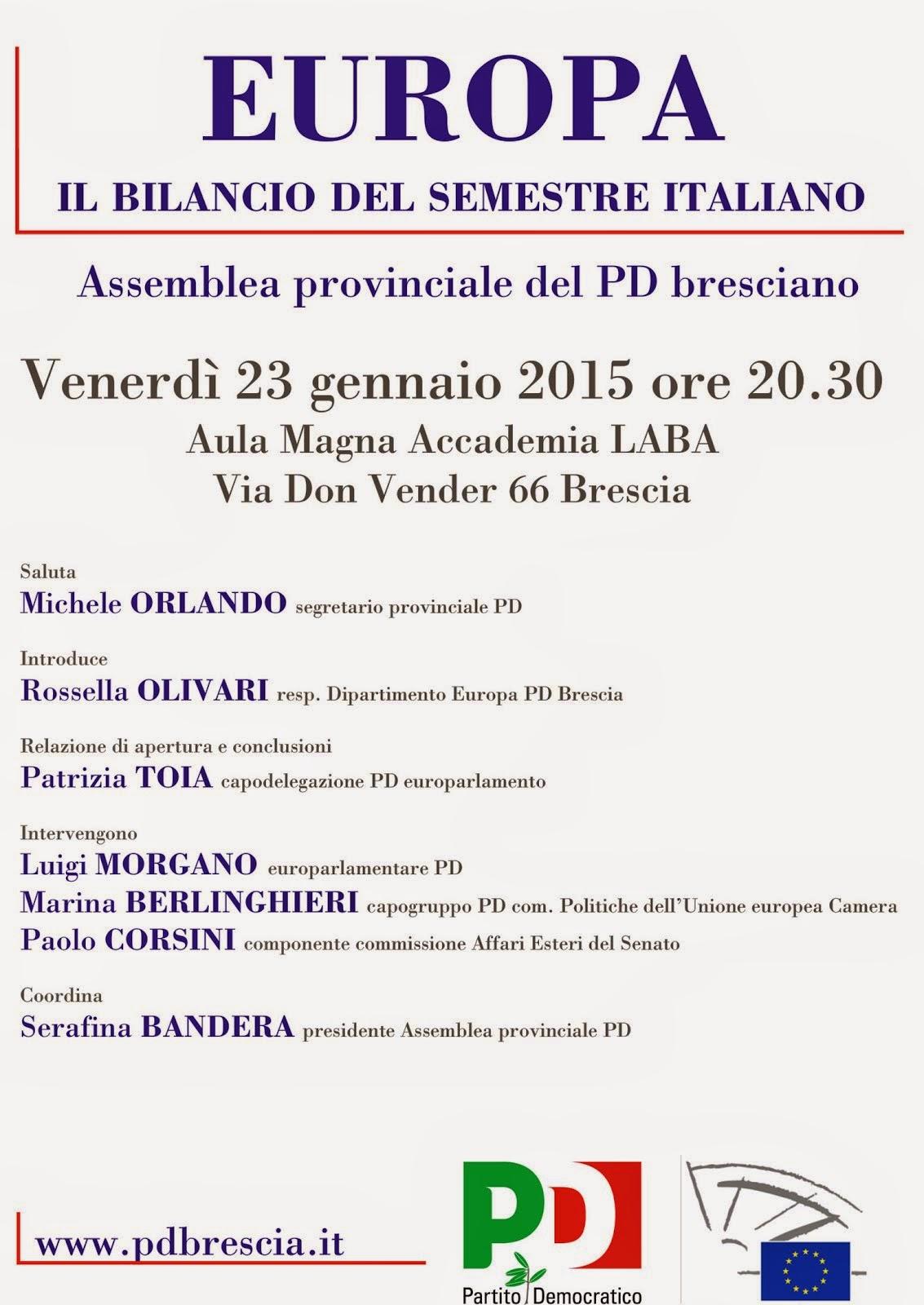 Assemblea Provinciale Bresciana
