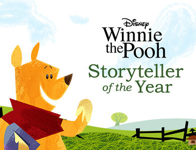 Winnie the Pooh &quot;Storyteller of the Year.&quot; 