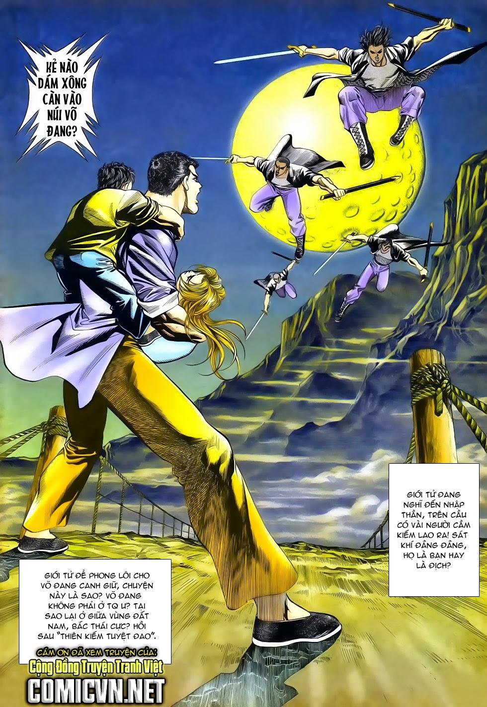 Long Hổ Phong Bạo chap 3 - Trang 34
